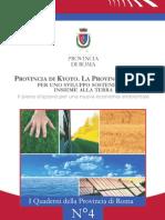 La Provincia Di Roma Per Uno Sviluppo Sotenibile - Nicola Zingaretti - Provincia di Roma