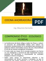 COCINA AHORRADORA DE LEÑA (SERMEÑO) abril 2013
