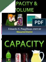 Capacity & Volume