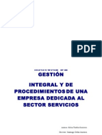 Manual de Gestion Integral y Procedimientos