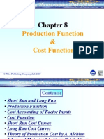 Ch 8 Production and Cost Functions