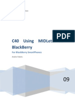 C40 Using MIDLets on BlackBerry v3