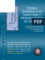 14-tcnicaquirurgicadevagotomayprocedimientosdedrenaje-120820211817-phpapp02