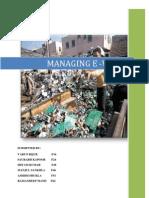 Managing E-Waste