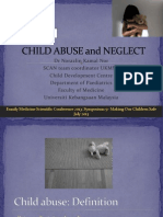Child Abuse and Neglect Dr Norazlin