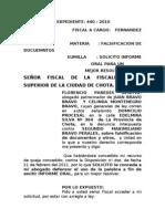 Celinda Montenegro - Contestacion de Demanda de Nulidad de Acto Juridico.