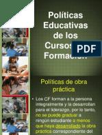 POLÍTICAS EDUCATIVAS ACTUALIZADO