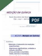 mediçaoQuimica