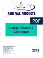 RFP Safety Price List - July 2013