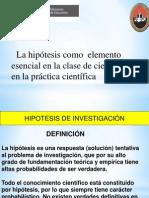 La Hipotesis en La Clase de Ciencias