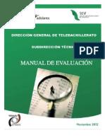 Manual de Evaluacion 2013