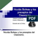 Nicolás Boileau y el Clasicismo