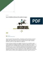 Beatriz Sarlo Los verdaderos héroes de nuestro tiempo.doc