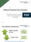 Patient-Centered Care Solution Presentation