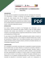 TECNOLOGIAS DE LA INFORMACIÓN Y LA COMUNICACIÓN