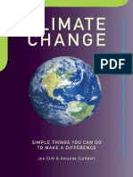 Climate Change, by Amanda Cuthbert and Jon Clift (Book Preview)