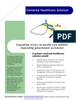 Patient Centered Healthcare Solutions Handout