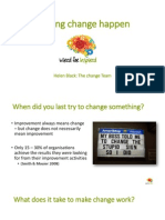 Helen Black - Making Change Happen