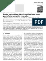 Design Methodology for Universal Line Input Boost