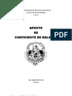 Apunte de Coeficiente de Balasto