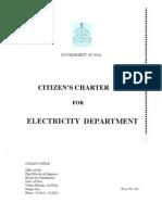Electricity Dept Charter