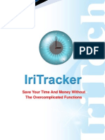 IriTracker Brochure - Time and Attendance Management with iris Recognition Technology