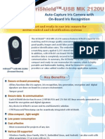 IriShield™-USB MK 2120U Flyer - iris Recognition Scanner Encased Module