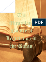 Miraculous Nature Of Legislation In The Holy Quran