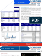Derivative 30 July 2013  By Mansukh Investment and Trading Solution