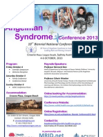 As Conference Flyer - October 2013