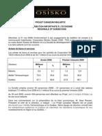 OSK Bilan économique mai 2009