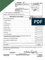 Keyes v Bowen Memorandum of Costs Strumwasser