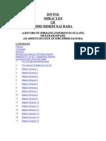 7734222 Divine Miracles of Shri Shirdi Sai Baba
