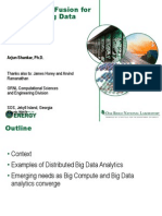 Analytics DistributedBigData Shankar