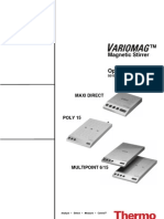 User Manual - English - Variomag - Poly 15 - Maxi Direct - Multipoint - MR - 50108213