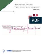 Healthcare Preparedness Capabilities