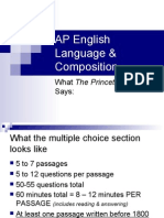 AP English Language Composition