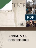 Criminal Procedure Revised