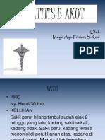 Egha-Hepatitis B Akut