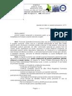 Regulament Ocupare Domeniul Public