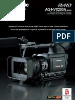 AG HVX201AE Leaflet 485