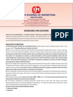 Guidelines for Authors - IJM