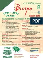Sagra Al Parco Burgos Castions 2013