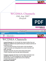 WCDMA Common Channels