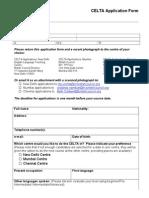 01 CELTA Application Form