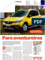 "RENAULT SCÉNIC XMOD NA ""CARROS & MOTORES"""