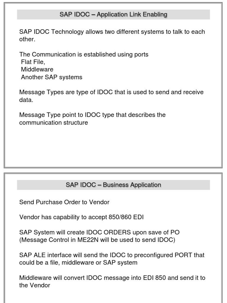 idocs ,sap idocs | Electronic Data Interchange | Invoice