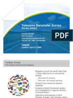 Yankee Group TEN2009 Telecom Barometer
