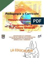 Pedagogia Curriculo