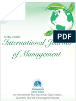 Vol 1, Iss 1, July 2013 (MERC Global's International Journal of Management) 